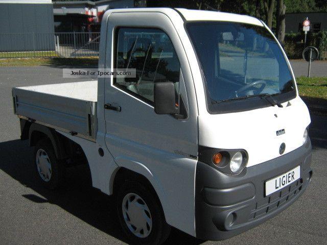 2009 ligier x pro mini truck moped car 45km h aixam. Black Bedroom Furniture Sets. Home Design Ideas