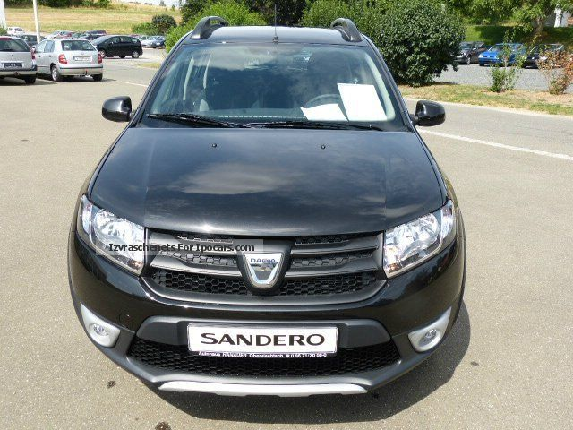 2012 dacia sandero stepway ambiance tce 90 climate cd car photo and specs. Black Bedroom Furniture Sets. Home Design Ideas