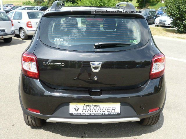 2012 dacia sandero stepway ambiance tce 90 climate cd car photo and specs