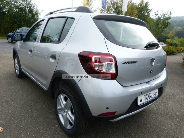 2012 dacia sandero stepway prestige tce 90 car photo and. Black Bedroom Furniture Sets. Home Design Ideas