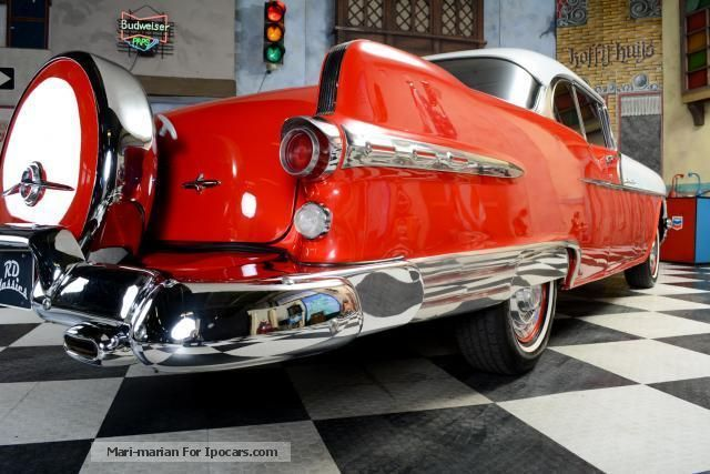 Pontiac  Bonneville star chief 2-dr hardtop Continental K 1956 Vintage, Classic and Old Cars photo