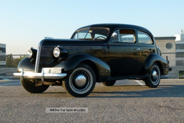 Pontiac  Six Deluxe Touring 26CA 1937 Vintage, Classic and Old Cars photo