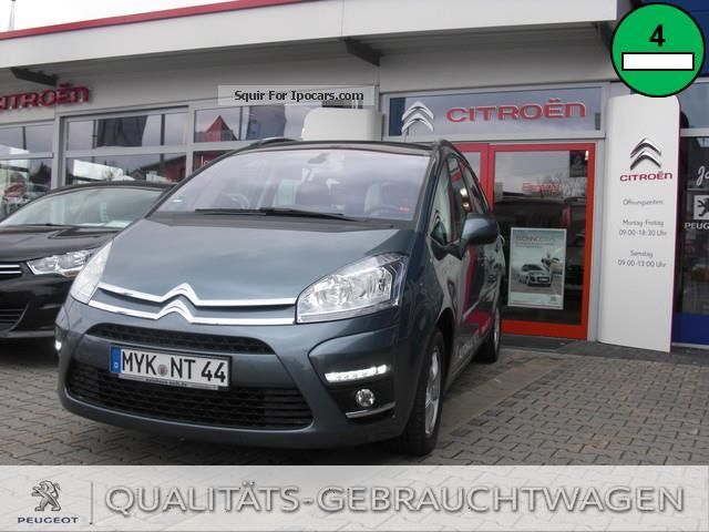 2012 Citroen  C4 Grand Picasso HDi 110 Tendance Van / Minibus Demonstration Vehicle (  Accident-free ) photo