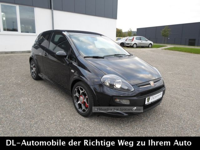 2013 Abarth  Punto Evo 1.4 Turbo MultiAir * 17 INCH * BLUE \u0026 ME * Saloon Pre-Registration (  Accident-free ) photo