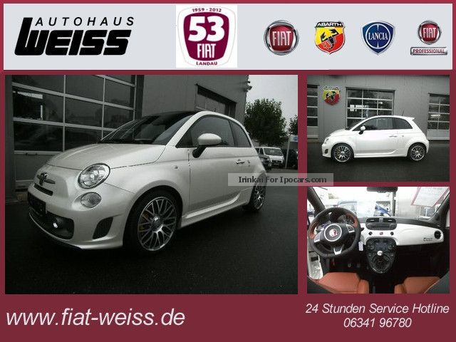 2013 Abarth  500 595 Turismo 1.4 Schiebedach/160PS Saloon Pre-Registration photo