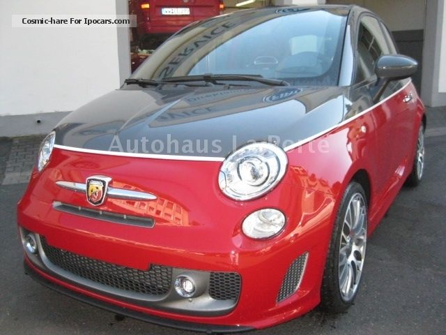 2012 Abarth  595 Turismo BICOLOR ROT-GRAU/LEDER BLACK Small Car New vehicle photo
