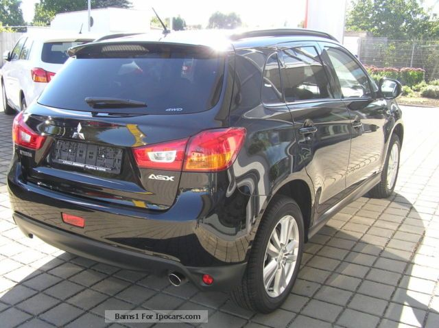 2013 mitsubishi asx 2 2 di d 4wd automatic intense fdbk kam car photo and specs. Black Bedroom Furniture Sets. Home Design Ideas