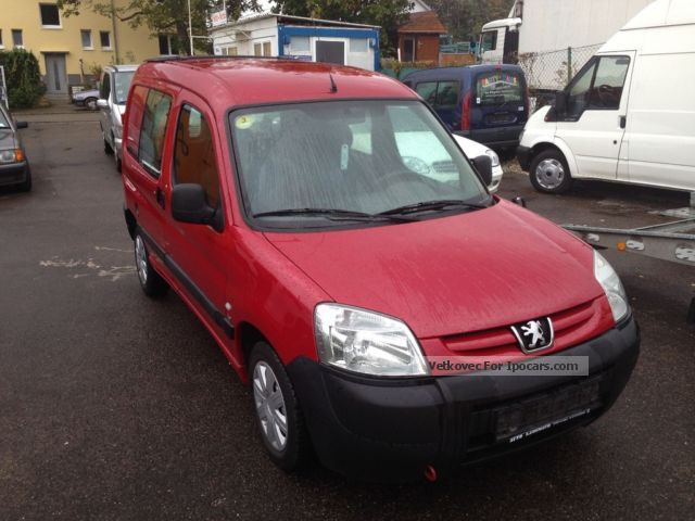 2003 Peugeot  2,0 L HDI Comfort Box Euro 3 Van / Minibus Used vehicle photo