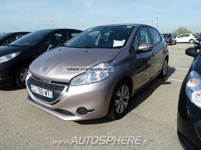 2012 Peugeot  1.6 e-HDi 208 FAP Active 5p Saloon Used vehicle photo