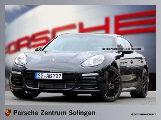 Porsche  Panamera S Hybrid E-Navi MP3 climate SHZ PDC 2013 Hybrid Cars photo