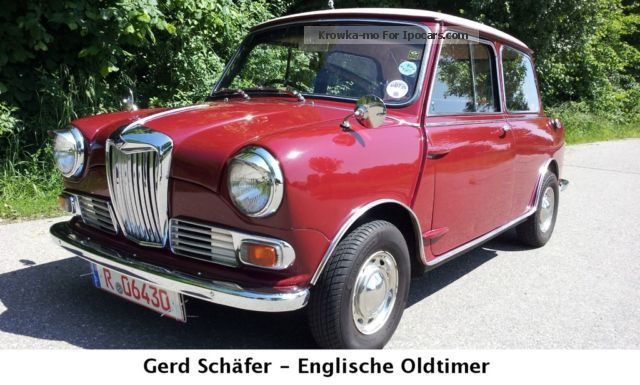 Austin  Mini Riley Elf, 65 hp, Classic Data 1 - 1964 Vintage, Classic and Old Cars photo