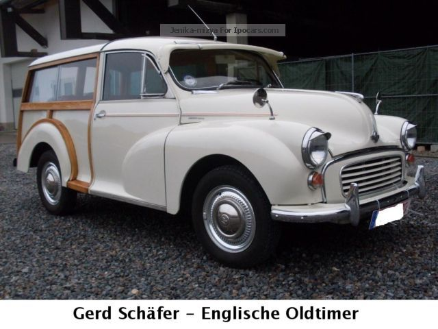 Austin  Morris Minor Traveller LHD Cl.Data 1 - 1971 Vintage, Classic and Old Cars photo