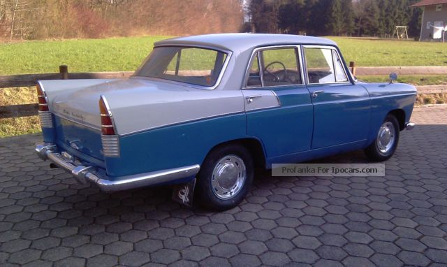 1961 Austin A55 Cambridge Deluxe Old Swede H