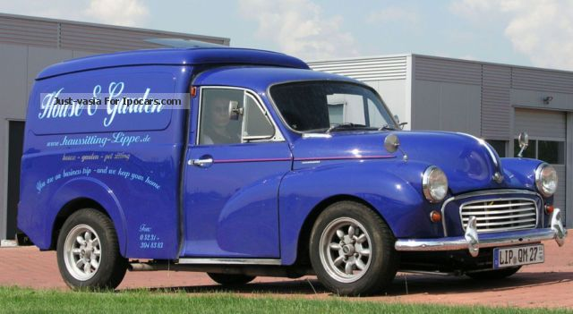 Austin  Morris Minor 1969 Liquefied Petroleum Gas Cars (LPG, GPL, propane) photo
