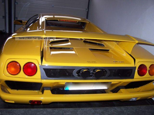 2002 Lamborghini Diablo 132 Sport Exhaust Ez 2002 Car Photo