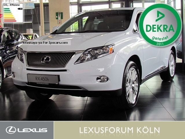 Lexus  RX 450h IMPRESSION, * € 20.000, - * Under price 2013 Hybrid Cars photo