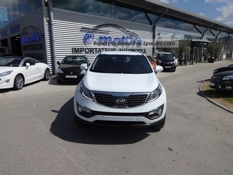 2013 Kia  Active Sportage CRDi 4x2 136 Off-road Vehicle/Pickup Truck Used vehicle photo