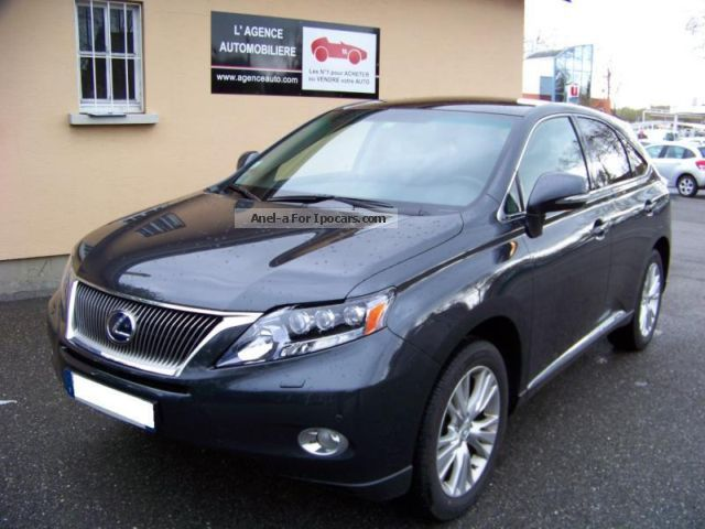 Lexus  LEXUS RX 450h RX 450h 3.5 V6 AWD 299 Pac 2011 Hybrid Cars photo