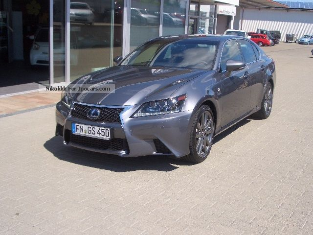 2012 Lexus  GS 450h F Sport with Night Vision Assistant + SD Saloon Used vehicle photo