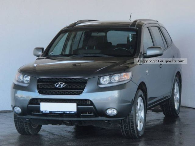 2007 hyundai santa fe 2 2 crdi 2007 car photo and specs. Black Bedroom Furniture Sets. Home Design Ideas