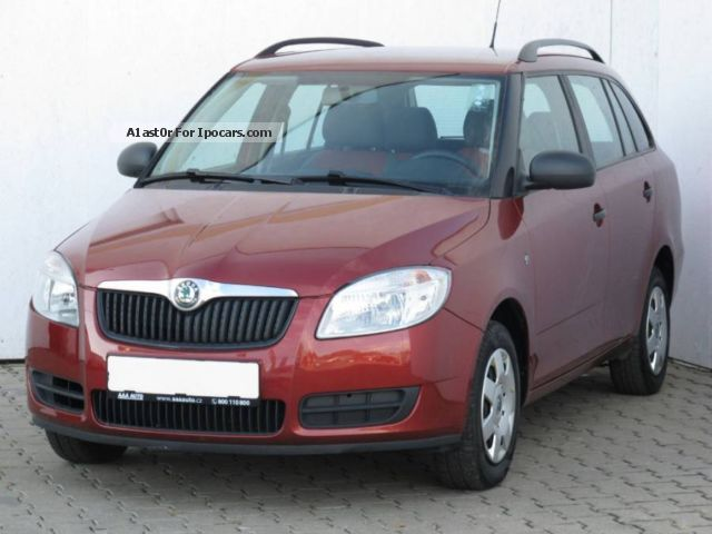 2008 skoda fabia 1 2 2008 car photo and specs. Black Bedroom Furniture Sets. Home Design Ideas