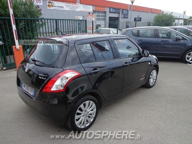 2012 suzuki swift 1 2 vvt little marcel 5p car photo and specs. Black Bedroom Furniture Sets. Home Design Ideas