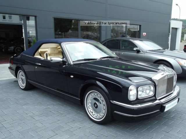 2002 Rolls Royce  5 Convertible EZ: 2002, only 24,000 km dark blue Cabriolet / Roadster Used vehicle (  Accident-free ) photo