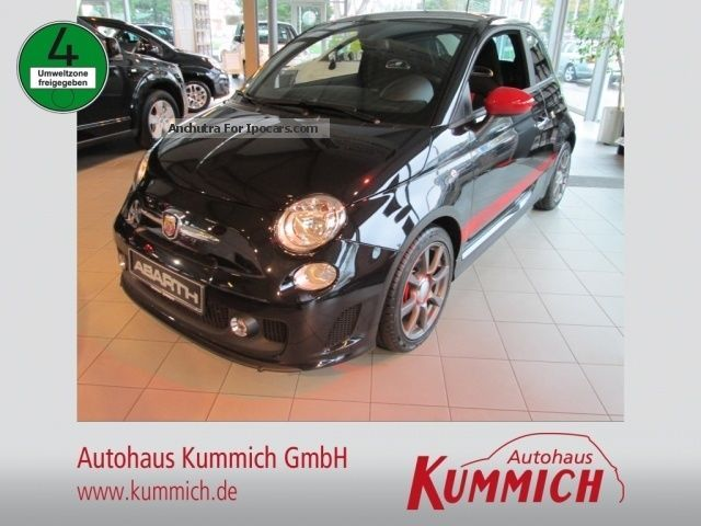 2013 Abarth  500 500 custom 1.4 16V Saloon Pre-Registration (  Accident-free ) photo