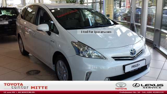 2013 Toyota  + Prius (hybrid) Automatic transmission, Van / Minibus Pre-Registration (  Accident-free ) photo