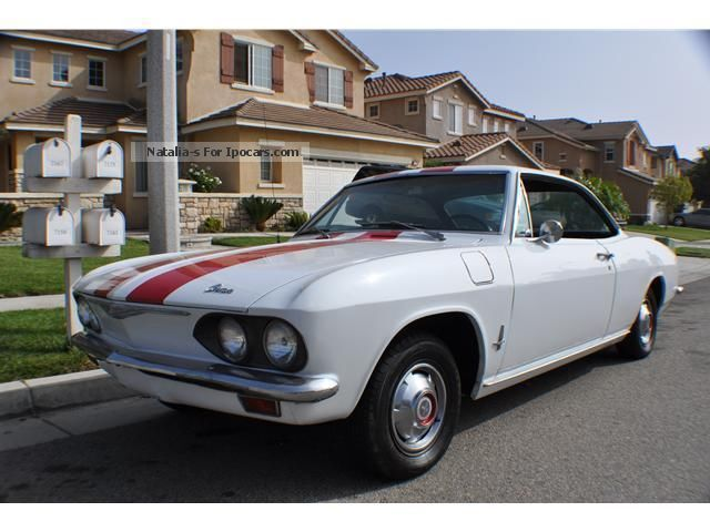 Chevrolet  Corvair Monza 110 1965 Vintage, Classic and Old Cars photo