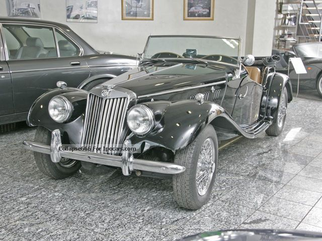 MG  TF Convertible Fully Restored 1954 Vintage, Classic and Old Cars photo