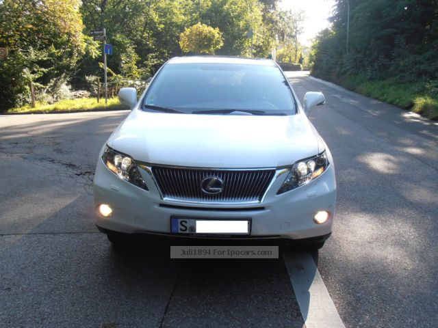 Lexus  RX 450h Ambience + SD + Head up Rear Seat Entert 2011 Hybrid Cars photo