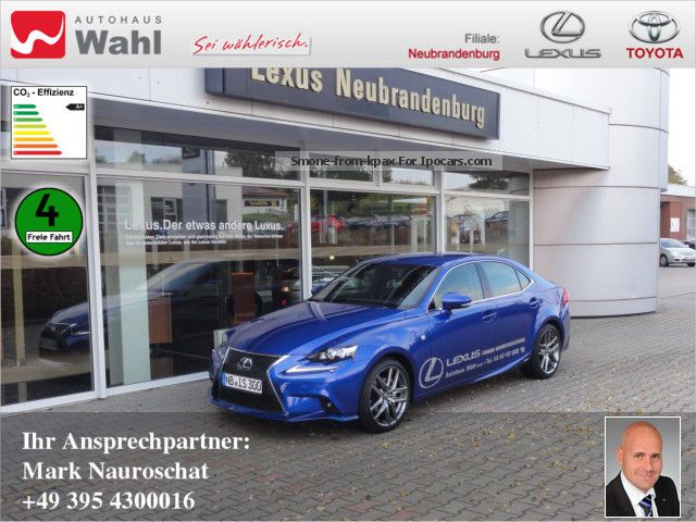Lexus  IS 300 F-Sport Navi Leather Blind Spot Assistant 2013 Hybrid Cars photo