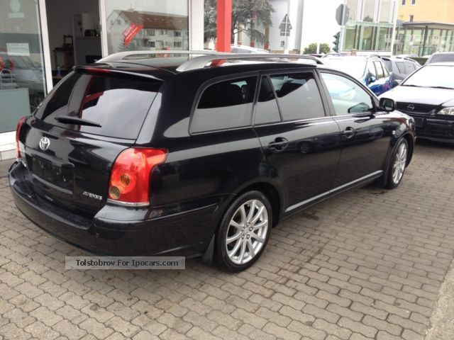 2005 Toyota Avensis 2.4VVT-icombi Executive LEATHER AIR NAVI - Car Photo and Specs