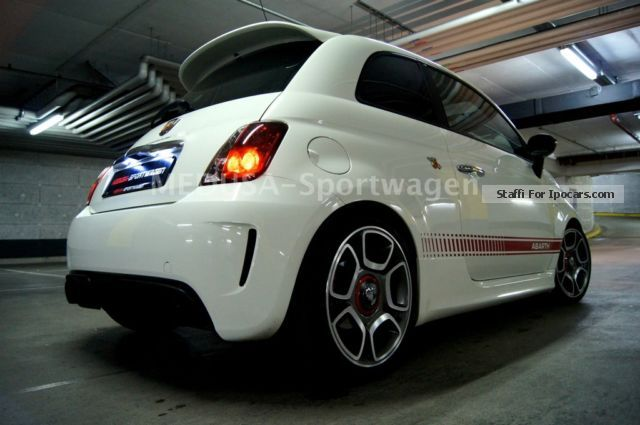 2012 Abarth  ABARTH EINZELSTÜCK G-TECH LEATHER PANORAMA TOPZUST Small Car Used vehicle (  Accident-free ) photo