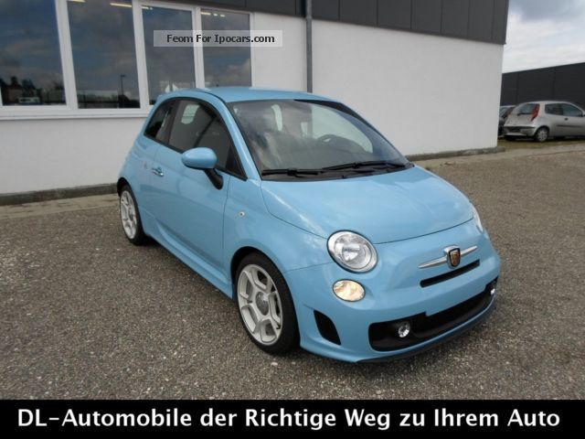 2013 Abarth  500 1.4 T-Jet 16V * PDC * CLIMATE CONTROL * 17 INCH * Small Car Pre-Registration (  Accident-free ) photo