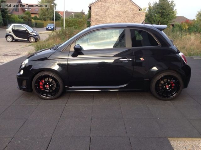 2012 Abarth  Esseesse 1.Hand-optic super-incl. Winter wheel Small Car Used vehicle (  Accident-free ) photo