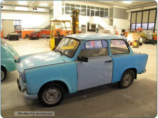 Trabant  azzurro pastello 1958 Vintage, Classic and Old Cars photo