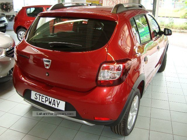 2012 dacia stepway prestige tce air navigation bluetooth car photo and specs. Black Bedroom Furniture Sets. Home Design Ideas