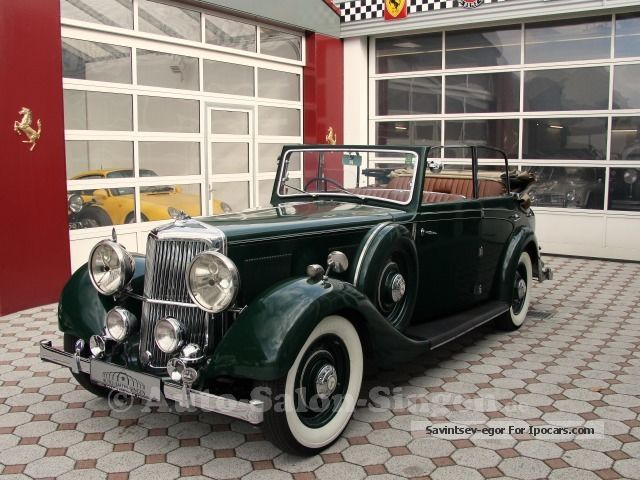 Other  Armstrong Siddeley 20/25 Convertible 1936 Vintage, Classic and Old Cars photo