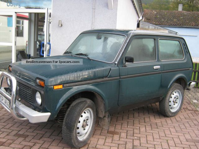 Lada  Niva 4x4 2008 Liquefied Petroleum Gas Cars (LPG, GPL, propane) photo