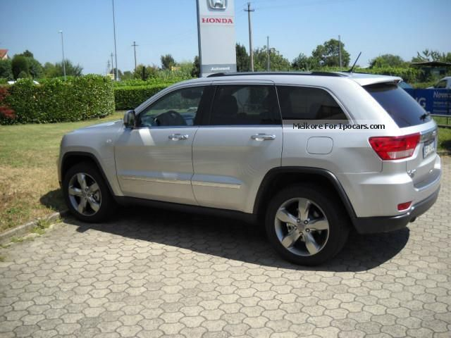 2013 Jeep  Grand Cherokee Overland 3.0 CRD 241 CV AZIENDALE Estate Car Employee's Car photo