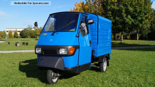 2013 Piaggio  Ape - NEW - Box Version - Blue Other Used vehicle photo