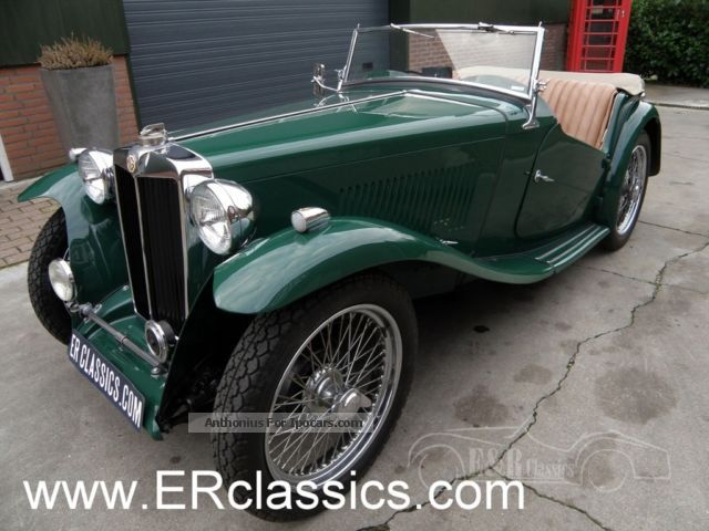 MG  TC 1949 very nice restored car 1949 Vintage, Classic and Old Cars photo