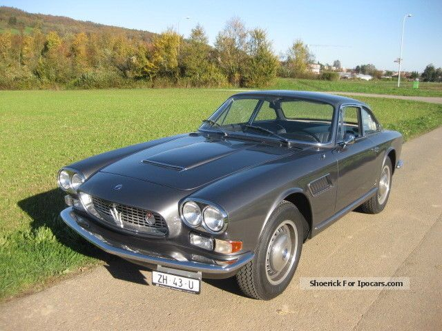 Maserati  3500 GTI Sebring 1965 Vintage, Classic and Old Cars photo