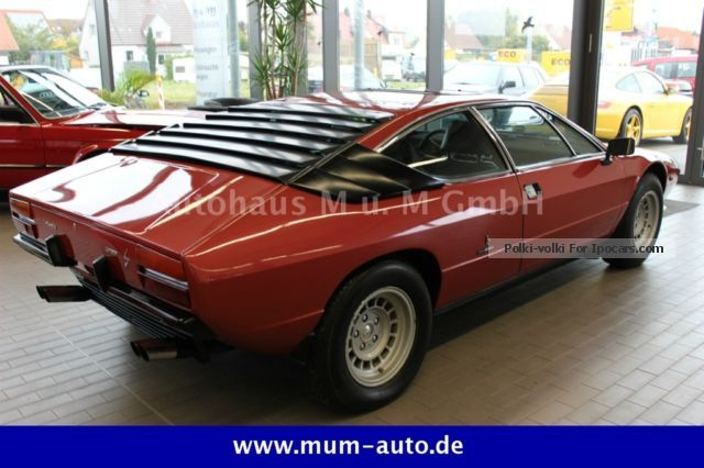 Lamborghini  Urraco 1973 Vintage, Classic and Old Cars photo