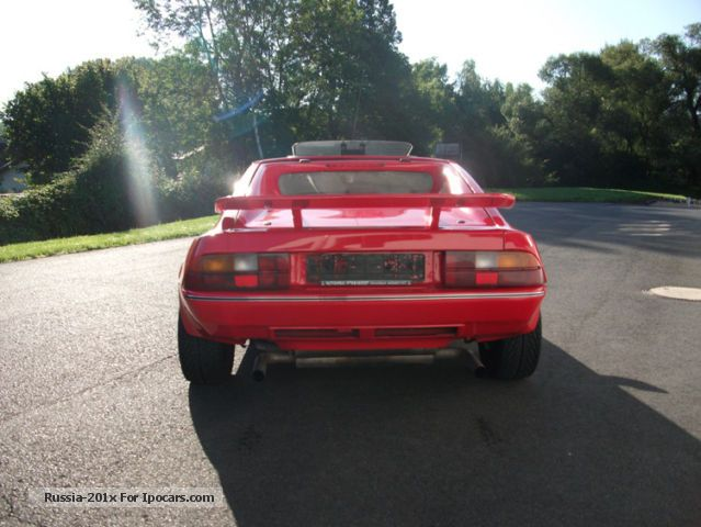 1986 Talbot Matra Murena 2 2 S Coupe Car Photo And Specs
