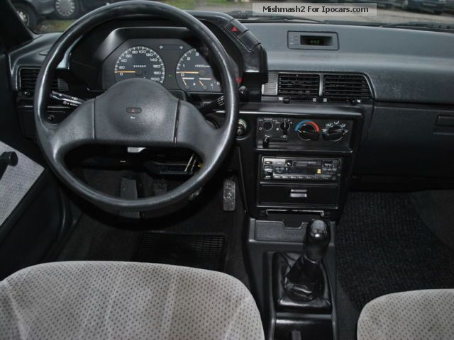 1989 Mitsubishi Lancer 1 5 Glxi Primiere New
