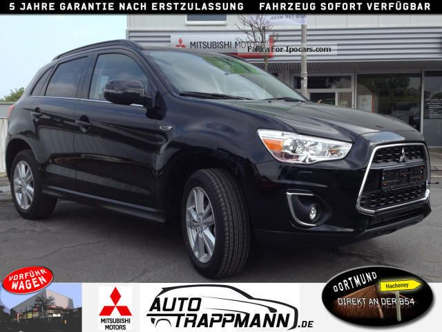2013 mitsubishi asx 4wd intense automatic car. Black Bedroom Furniture Sets. Home Design Ideas