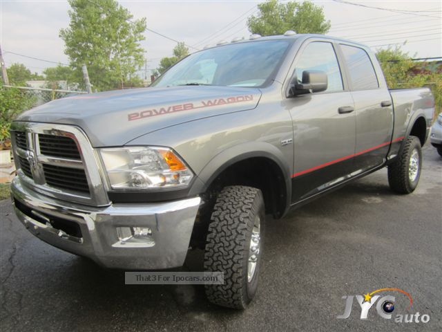 2012 Dodge  2500 Power Ram 2014 Cab SLTCrew Wag, $ Exp.50750 Off-road Vehicle/Pickup Truck New vehicle photo